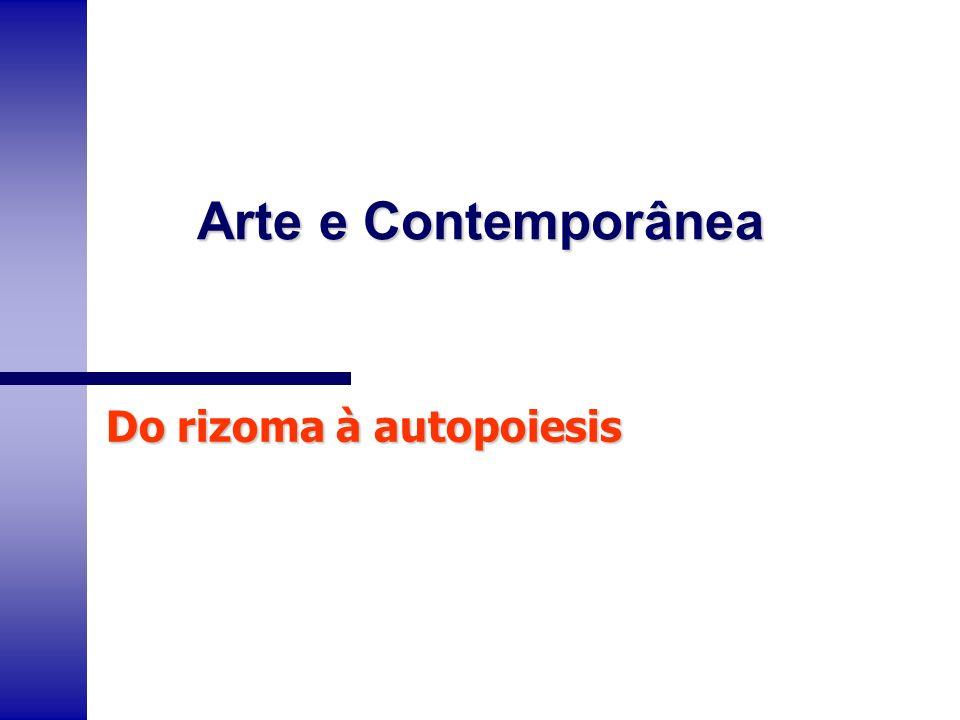 n O conceito de rizoma criado por Deleuze e Guatarri é um conceito fractal que nos leva a pensar em uma dimensão intermediária que nos ajuda a superar as dicotomias do inteligível e do sensível, do discurso e do extradiscurso, do sujeito e do objeto.