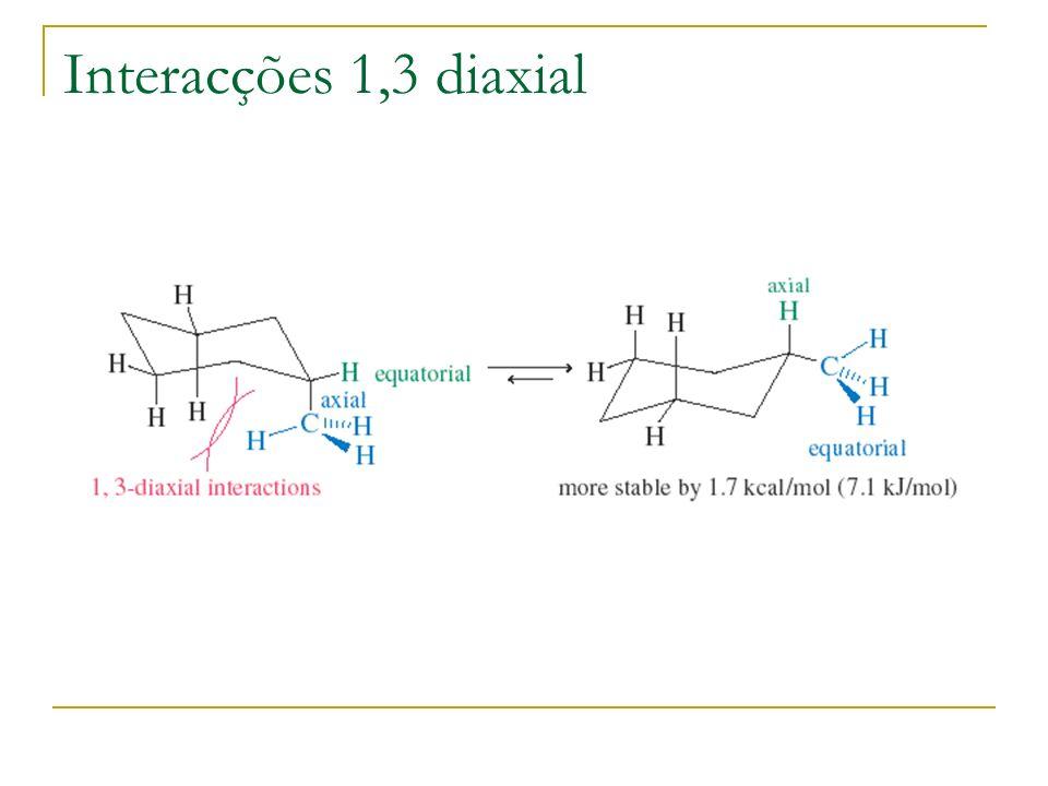 Interacções 1,3 diaxial