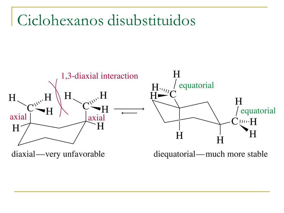 Ciclohexanos disubstituidos