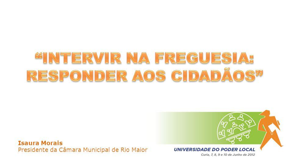 Isaura Morais Presidente da Câmara Municipal de Rio Maior