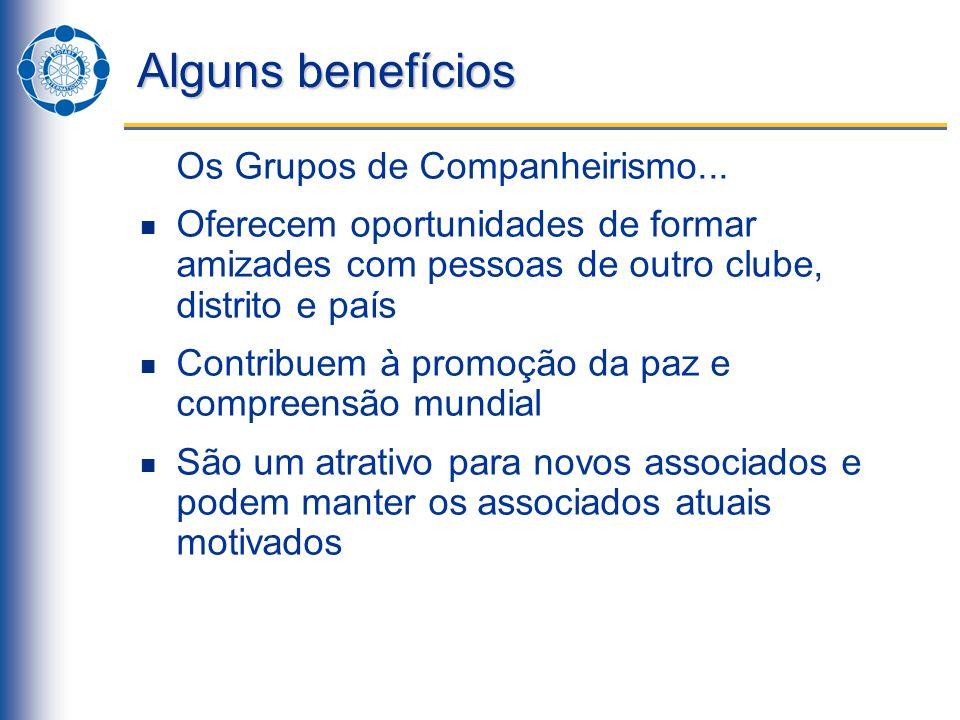 História Informalmente, os Grupos de Companheirismo tiveram início em 1928 com a reunião de rotarianos interessados em esperanto.