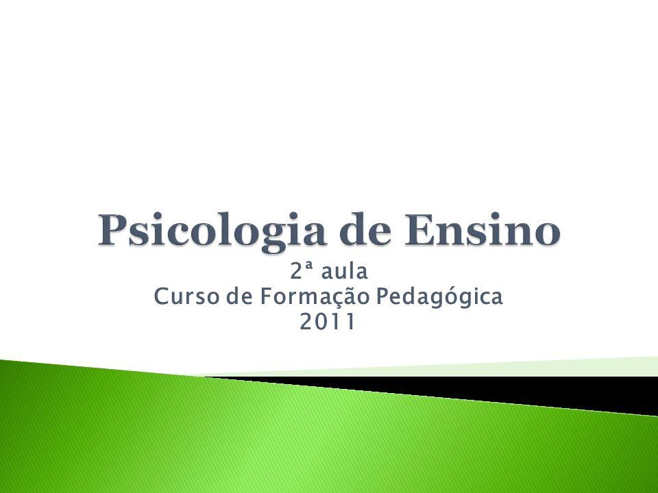 2ª aula Curso de Formação Pedagógica 2011