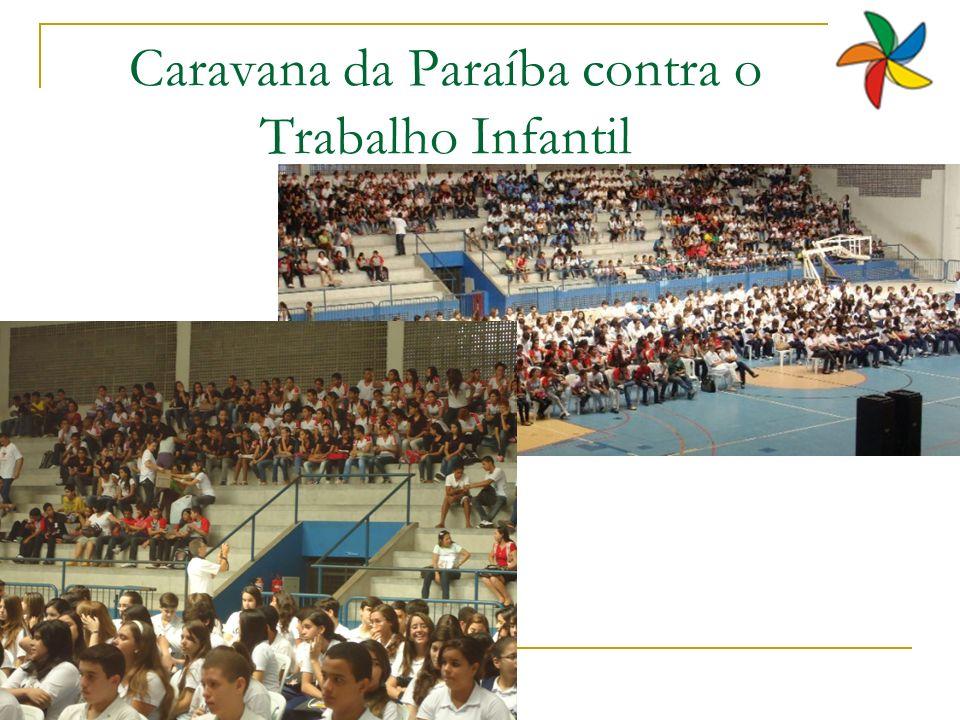 Caravana da Paraíba contra o Trabalho Infantil