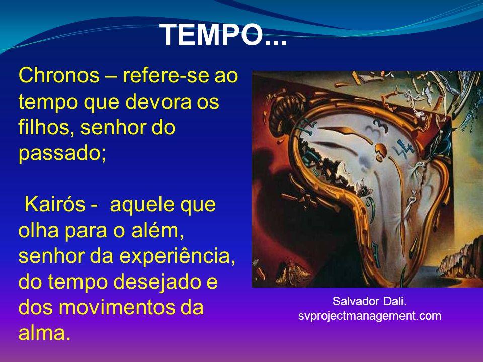 Percepção do Tempo site: senado.gov.br