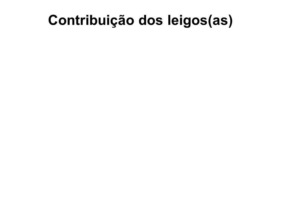 Contribuição dos leigos(as)