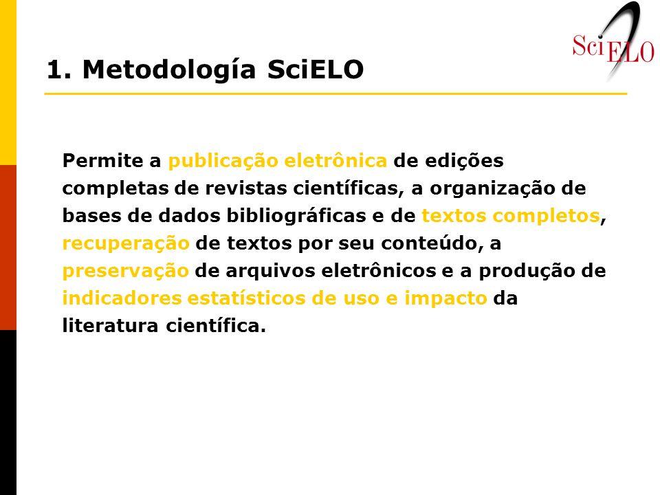Permite a publicação eletrônica de edições completas de revistas científicas, a organização de bases de dados bibliográficas e de textos completos, re