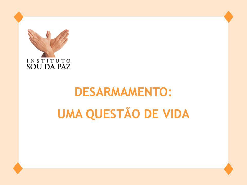 O processo de desarmamento no Brasil está reafirmando a democracia.