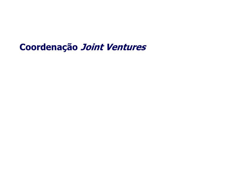 Coordenação Joint Ventures