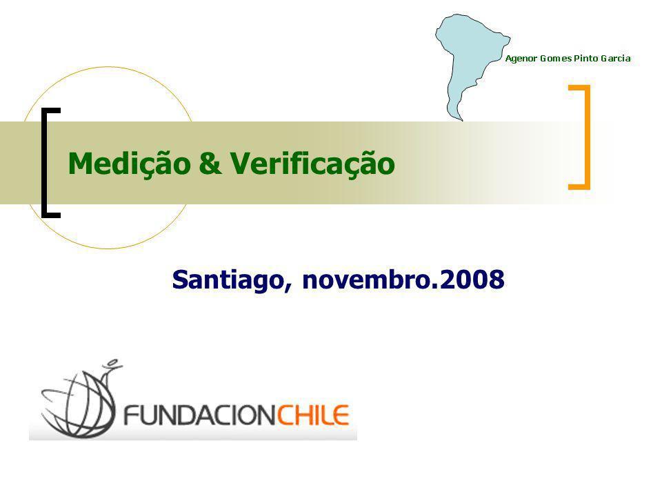 Medição & Verificação Santiago, novembro.2008