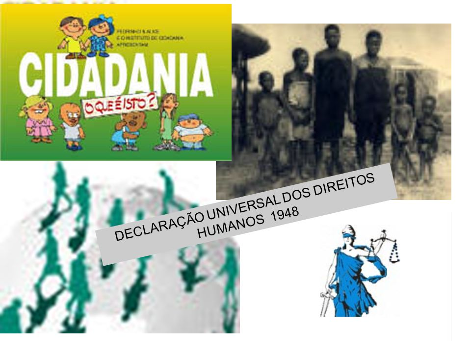 DECLARAÇÃO UNIVERSAL DOS DIREITOS HUMANOS 1948