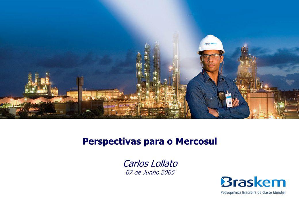 1 o Congresso Brasileiro do PVC Capacidades América do Sul – PVC S Braskem - AL (204) Braskem - BA (246) Solvay (210) Petco (320) Pequiven (120) Solvay (215) Kton/y 2004 Fonte: Balanços Contábeis