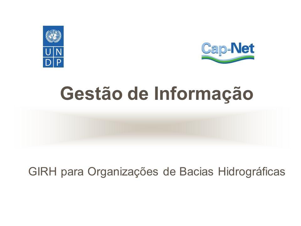 Gestão de Informação GIRH para Organizações de Bacias Hidrográficas