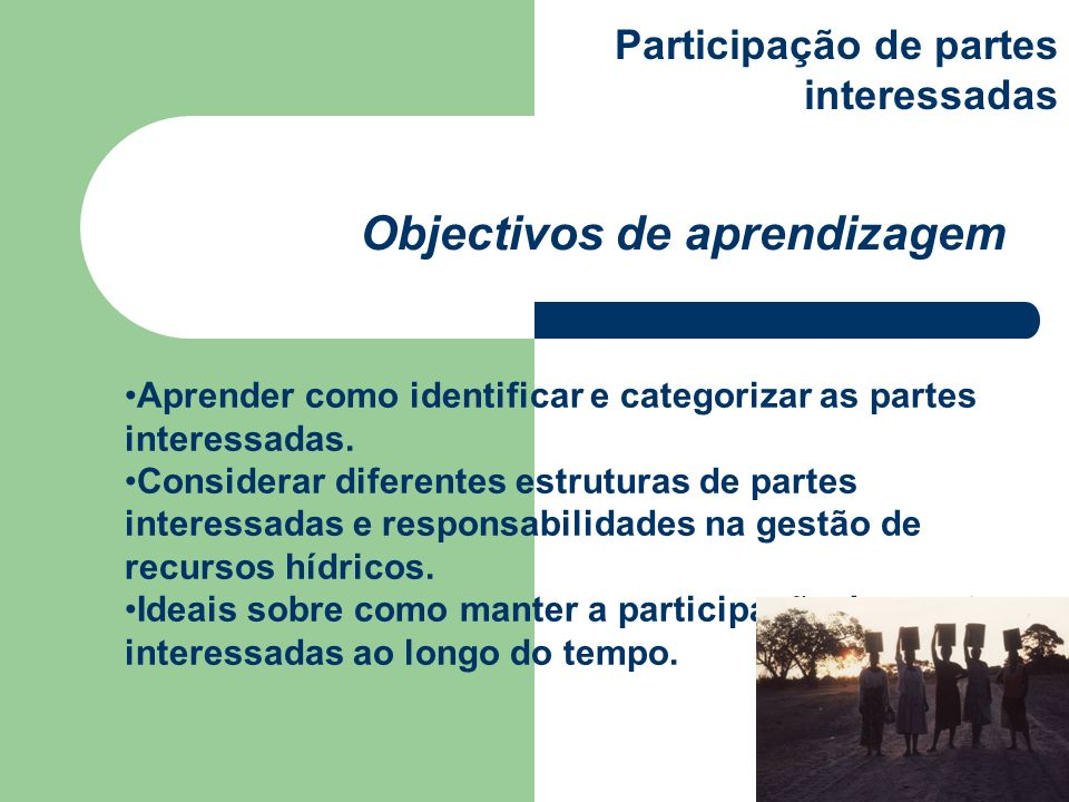 Aprender como identificar e categorizar as partes interessadas.