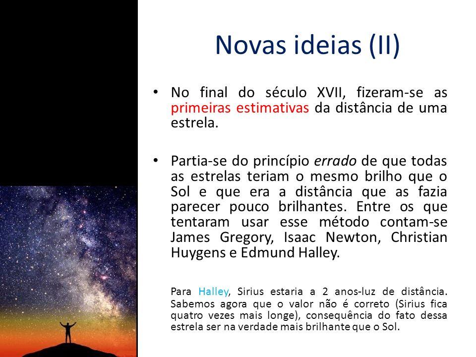 O movimento próprio das estrelas (I) Foi o mesmo astrónomo Edmund Halley quem em 1718 anunciou uma importante descoberta: Ao comparar a posição das mesmas estrelas em catálogos elaborados em diferentes épocas, concluiu que (sem margem para dúvidas) algumas tinham mudado de posição ao longo do tempo.