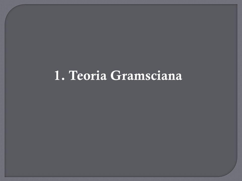 1. Teoria Gramsciana
