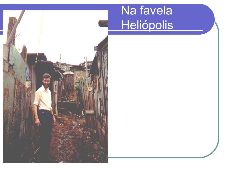 Na favela Heliópolis