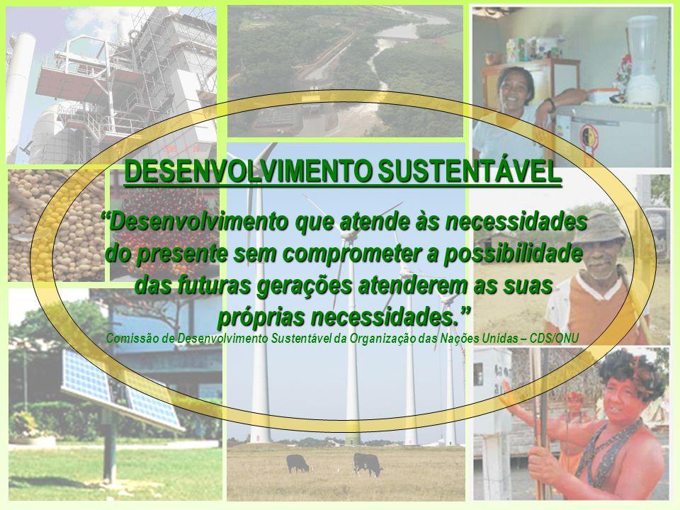 Desenvolver e disseminar tecnologias de energias alternativas com o objetivo de aumentar a participação das energias renováveis na matriz energética – § 20(c) Promover o acesso a serviços energéticos que sejam confiáveis, baratos, economicamente viáveis, socialmente aceitáveis e ambientalmente corretos - §9(a) DIRETRIZES DO DESENVOLVIMENTO ENERGÉTICO SUSTENTÁVEL ADOTADAS NO BRASIL Plano de Implementação de Johanesburgo - JPOI Reconhecer que os serviços energéticos têm impactos positivos na erradicação da pobreza e na melhoria da qualidade de vida –§ 9(g ) Diversificar o fornecimento de energia por meio do desenvolvimento de tecnologias energéticas avançadas, mais limpas, mais eficientes e lucrativas - § 20(e) Combinar as várias tecnologias energéticas para atender às necessidades de crescimento dos serviços de energia – § 20(d) Acelerar o desenvolvimento, a disseminação e a aplicação de tecnologias de conservação e eficiência energética mais limpas e baratas – § 20(i)
