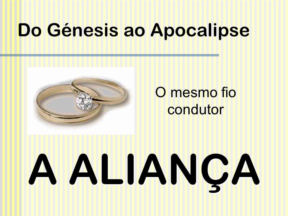 Do Génesis ao Apocalipse A ALIANÇA O mesmo fio condutor
