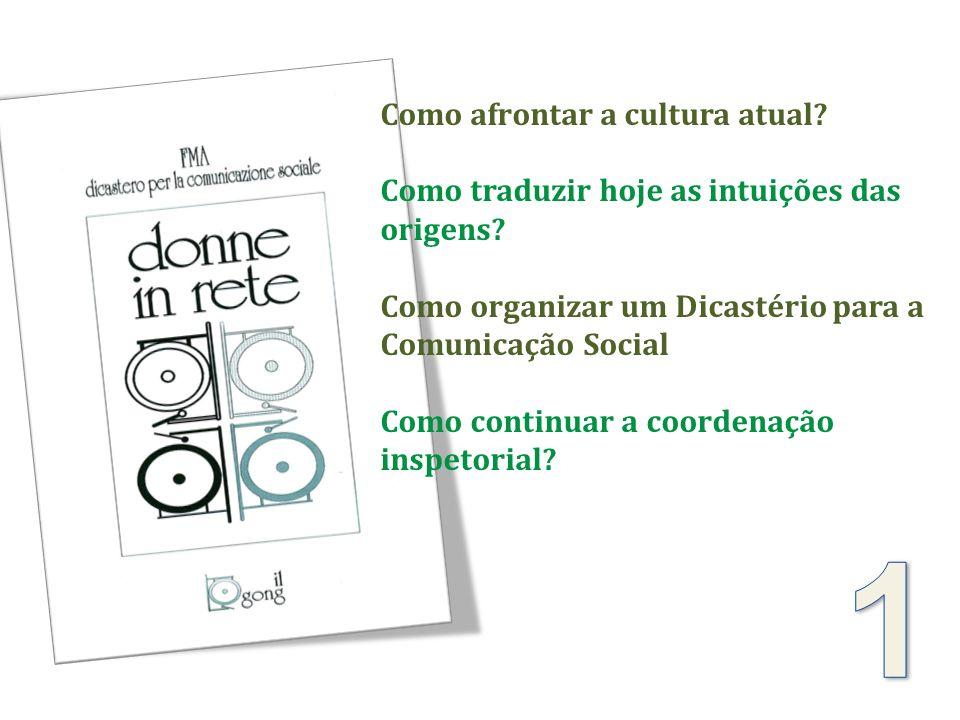 Como afrontar a cultura atual? Como traduzir hoje as intuições das origens? Como organizar um Dicastério para a Comunicação Social Como continuar a co