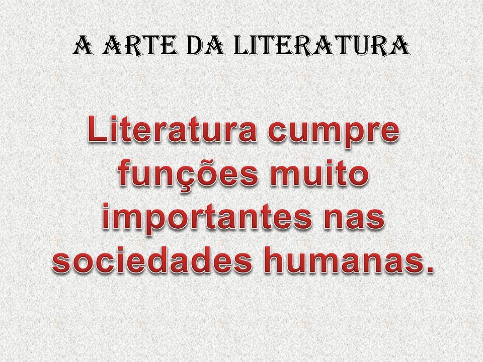 A arte da literatura