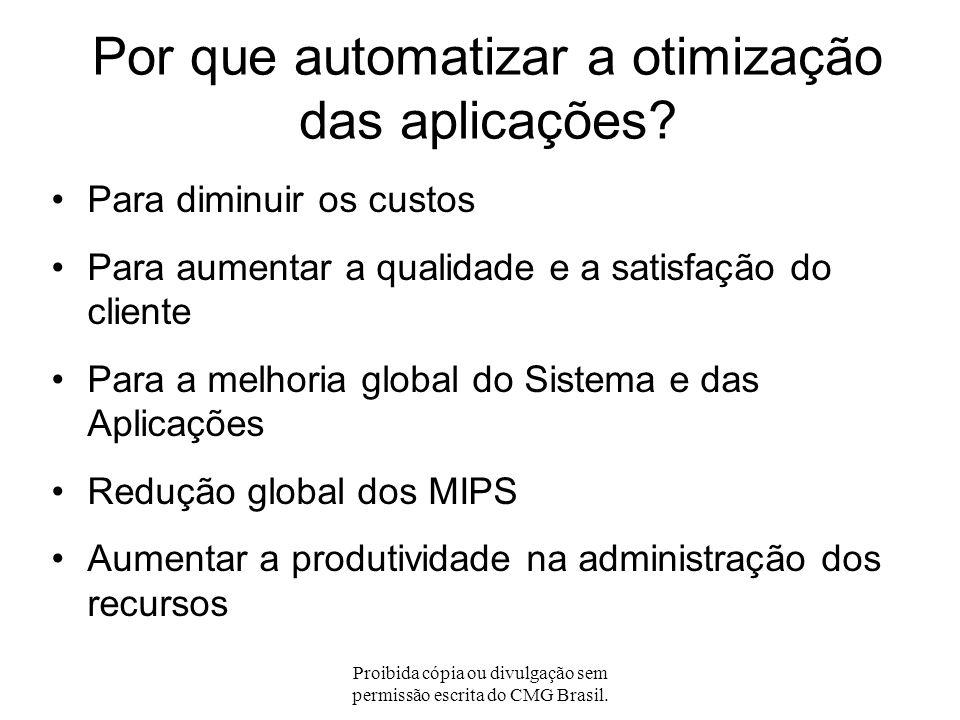 Proibida cópia ou divulgação sem permissão escrita do CMG Brasil. A Gestão da Performance da Aplicação (APM) APM é uma disciplina da Gestão da Perform