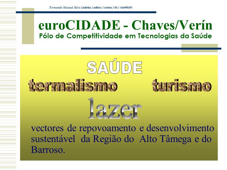 euroCIDADE - Chaves/Verín Pólo de Competitividade em Tecnologias da Saúde vectores de repovoamento e desenvolvimento sustentável da Região do Alto Tâm