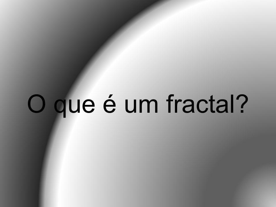 A palavra fractal do adjectivo em latim fractus o verbo latino correspondente Frangere significa quebrar: e para além de significar quebrado ou partido fractus também significa irregular.