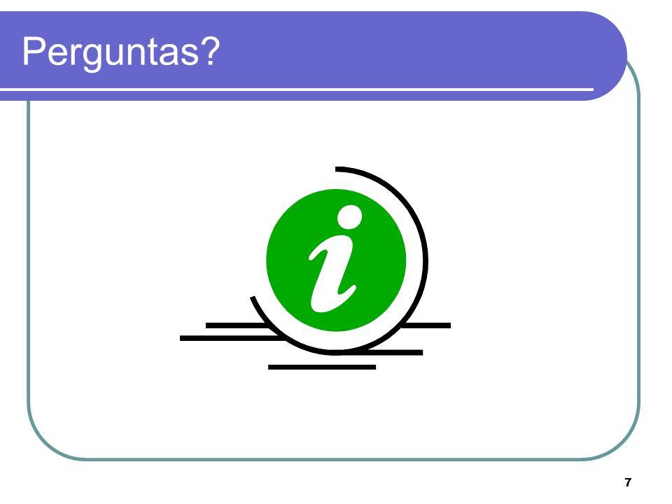 7 Perguntas?
