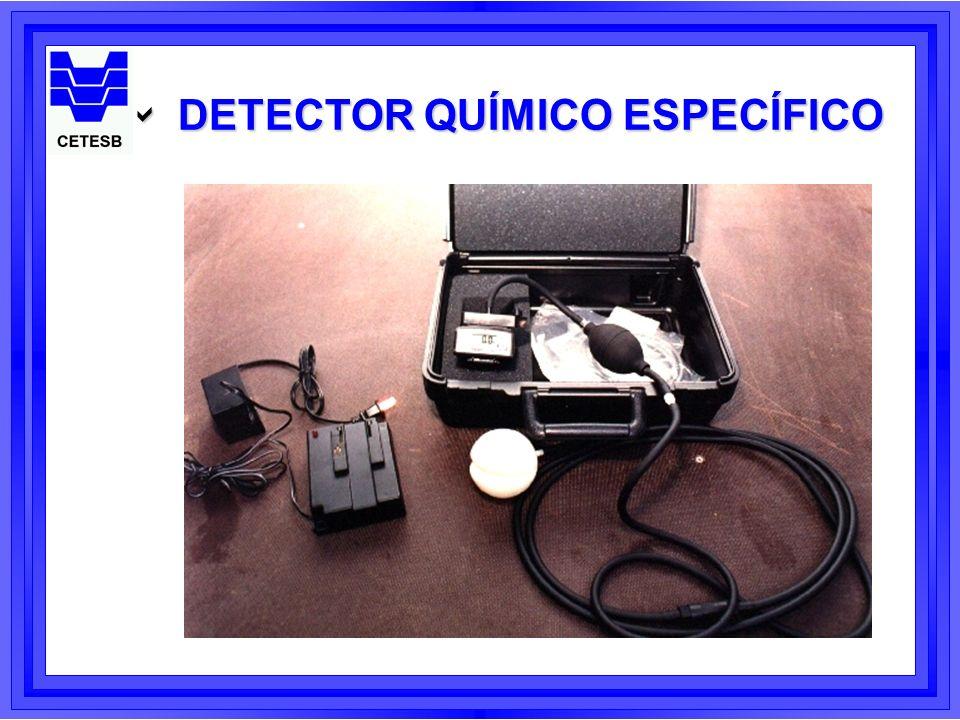 DETECTOR QUÍMICO ESPECÍFICO DETECTOR QUÍMICO ESPECÍFICO