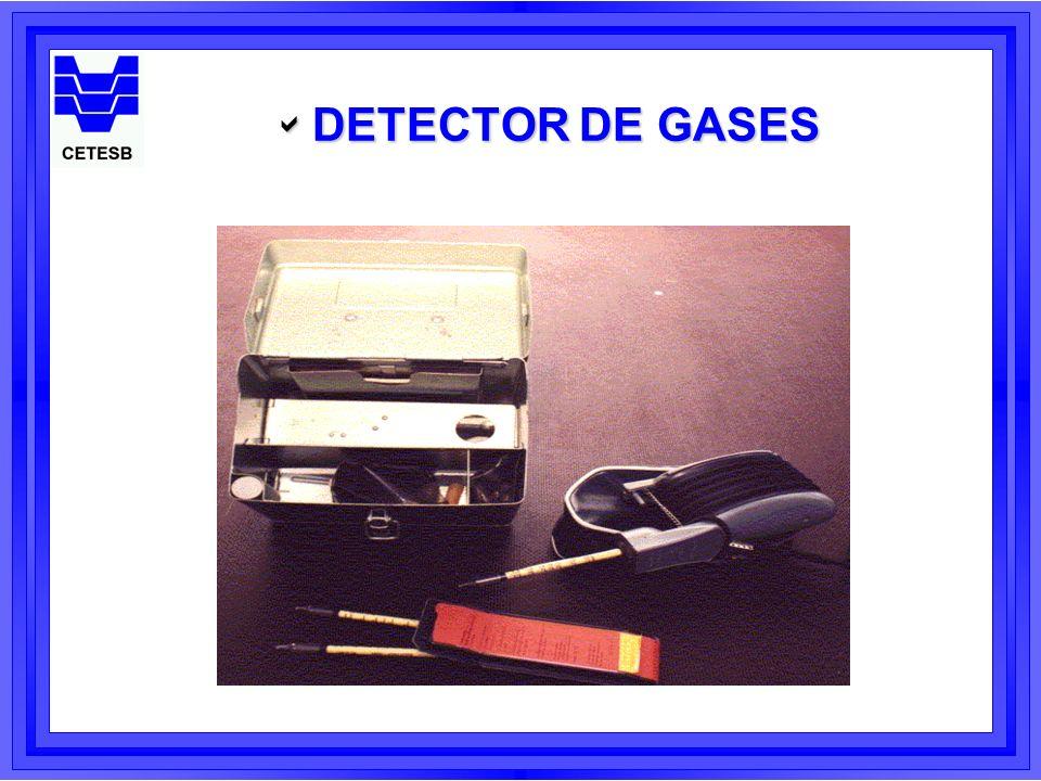 DETECTOR DE GASES DETECTOR DE GASES
