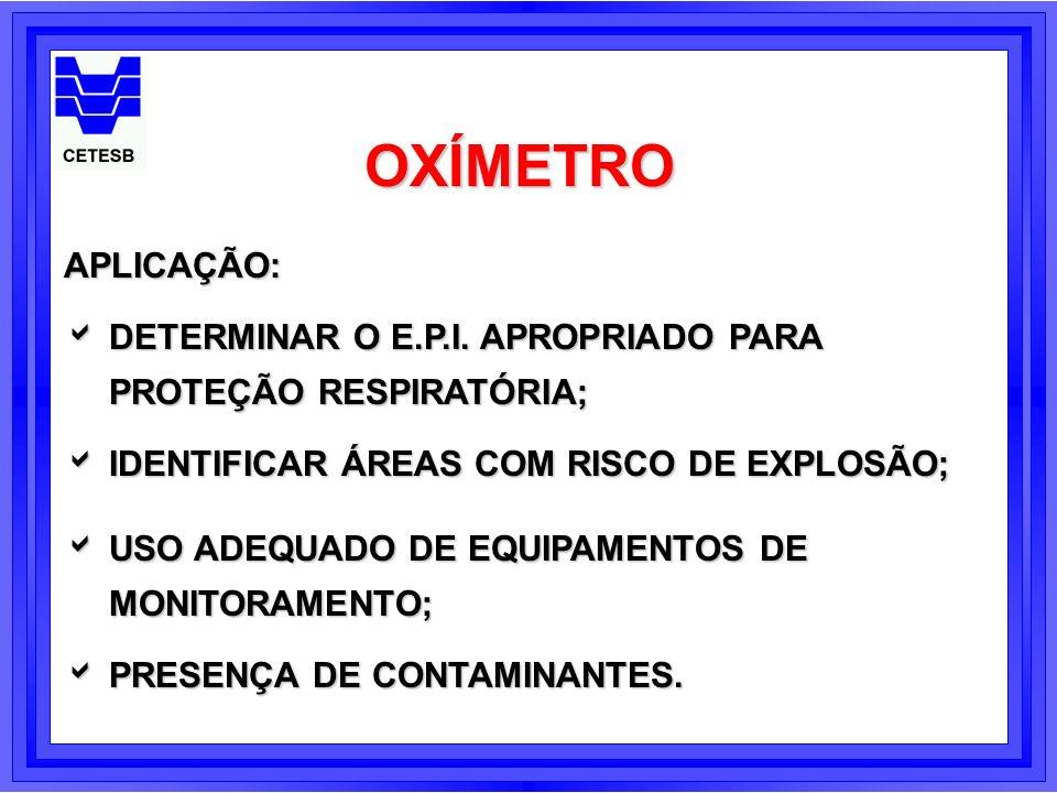 LIMITAÇÕESECONSIDERAÇÕES ALTAS CONCENTRAÇÕES DE DIÓXIDO ALTAS CONCENTRAÇÕES DE DIÓXIDO DE CARBONO DE CARBONO ALTAS OU BAIXAS TEMPERATURAS ALTAS OU BAIXAS TEMPERATURAS ALTITUDE ALTITUDE