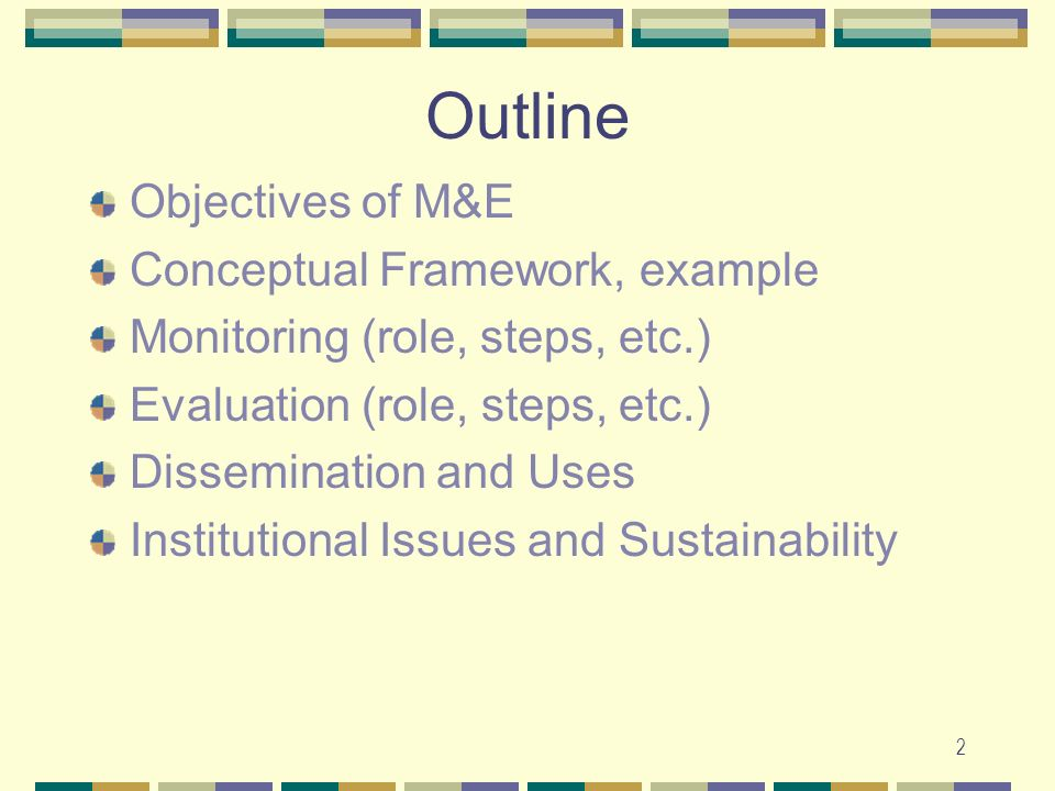 23 Uses of Evaluation To make resource decisions To re-think about the causes of a problem To identify issues around an emerging problem, i.e.