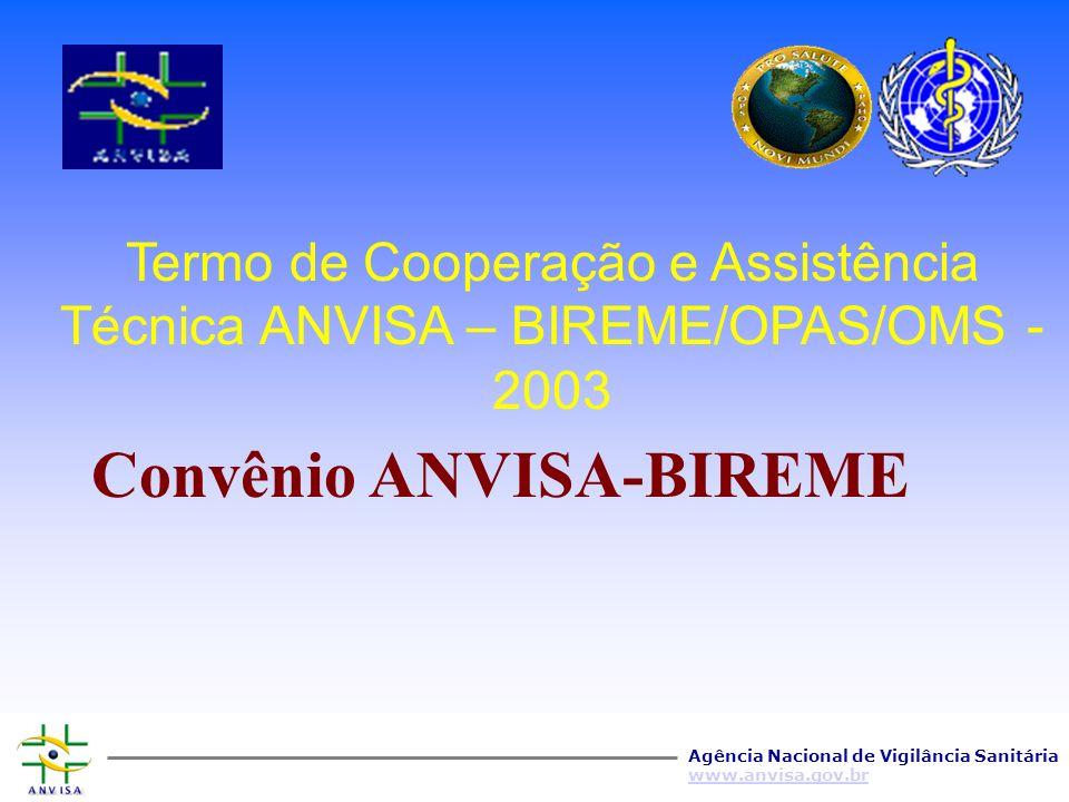 Agência Nacional de Vigilância Sanitária www.anvisa.gov.br Gestão do conhecimento em Vigilância Sanitária Bulario On-Line LegislacionInstituto Virtual Literatura científica