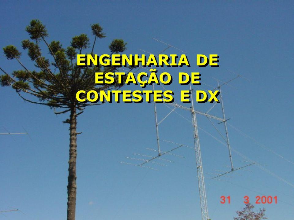 PY5EG - Julho/03 Engenharia de Estações de Dx Escolha do terreno e testes da localização para Dx.