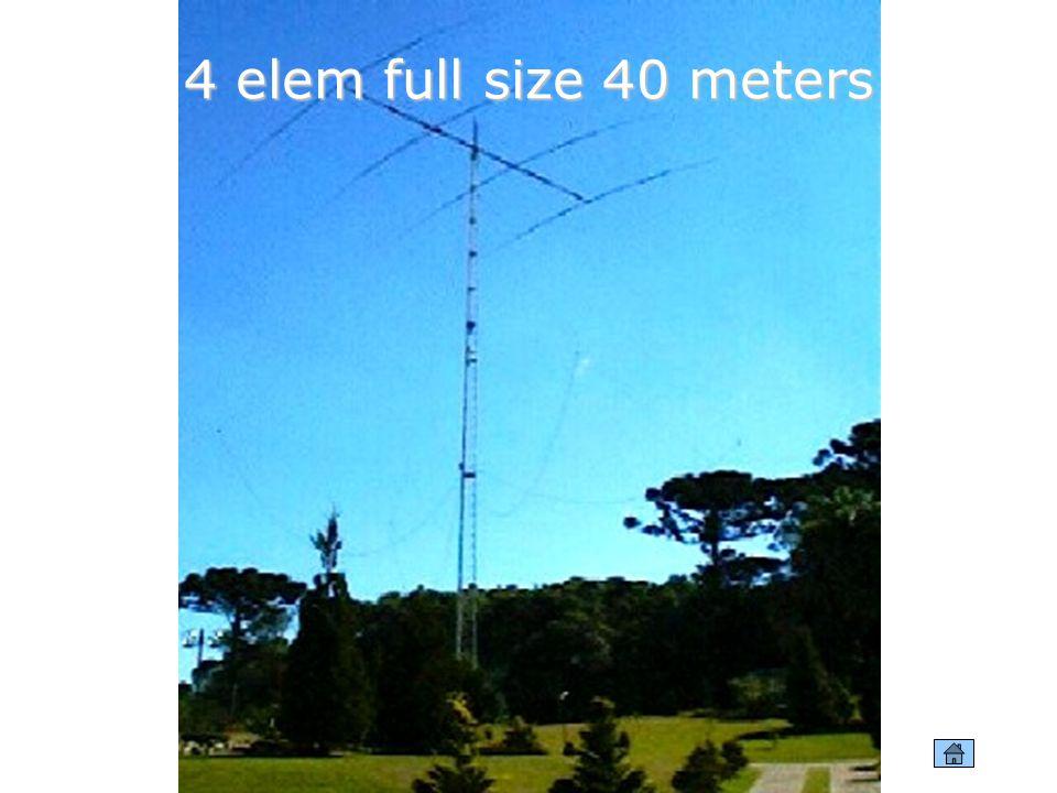 4 elem full size 40 meters