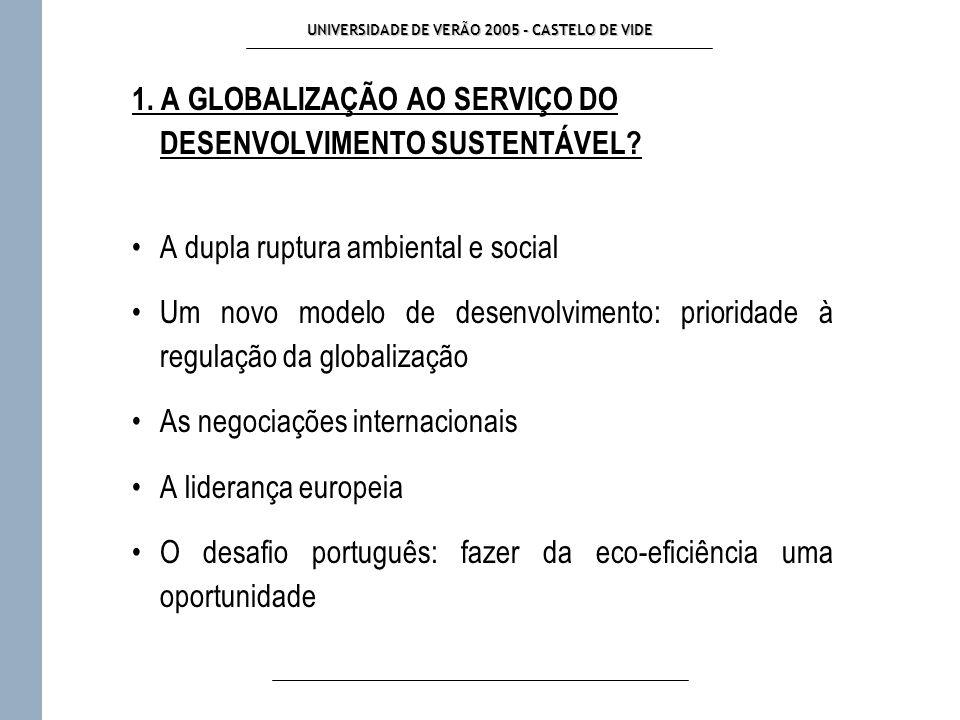 UNIVERSIDADE DE VERÃO 2005 - CASTELO DE VIDE 1.