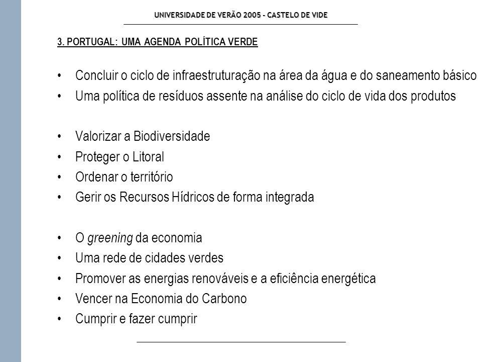 UNIVERSIDADE DE VERÃO 2005 - CASTELO DE VIDE 3.