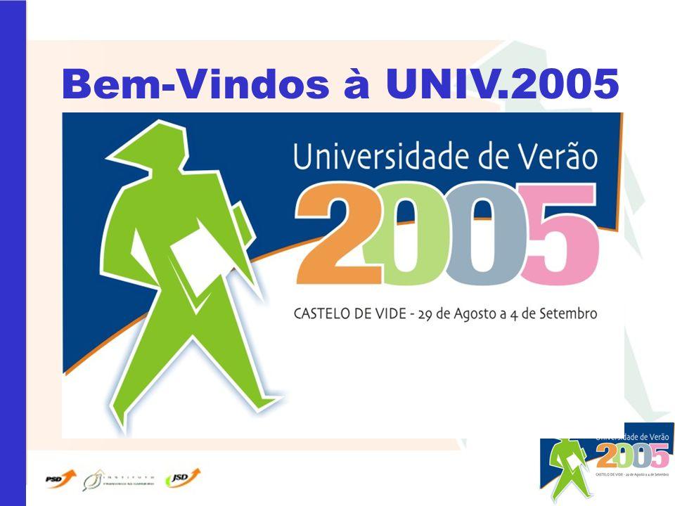 Bem-Vindos à UNIV.2005