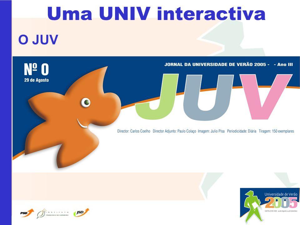 Uma UNIV interactiva O JUV