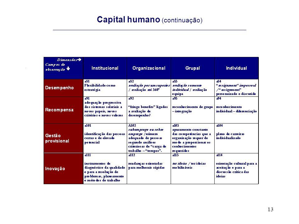 13 Capital humano (continuação) ______________________________________________________________________.