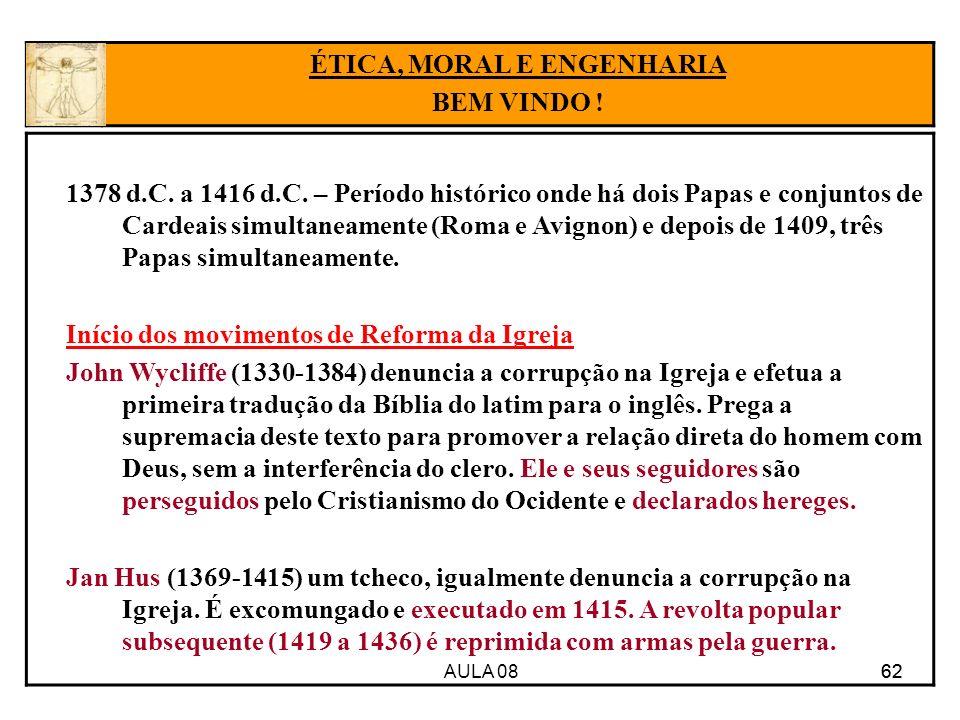 AULA 08 62 1378 d.C.a 1416 d.C.