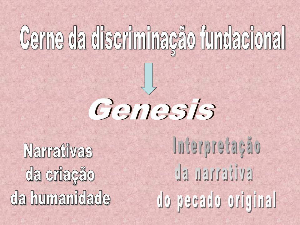 […] a narrativa de Génesis 2-3 impõe-se na nossa cultura ocidental, amassada de judaísmo e cristianismo, como referência obrigatória.