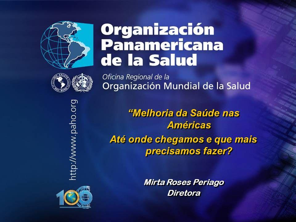 Organização Pan-Americana da Saúde....