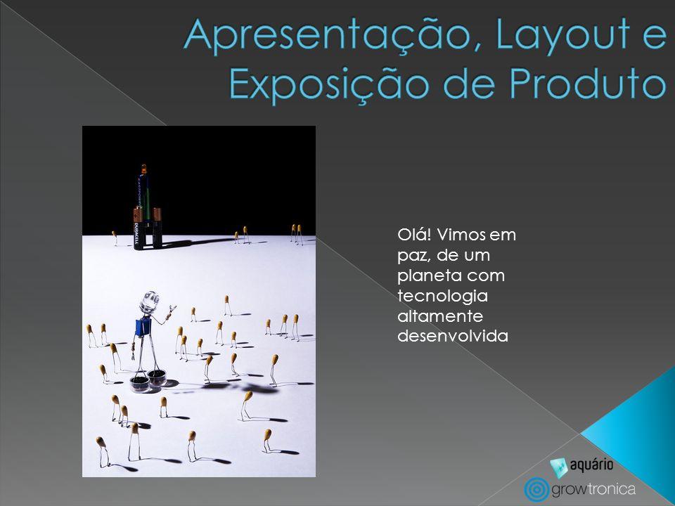Tipos de Equipamentos: Gôndolas Araras Expositores para produtos especiais Expositores Promocionais