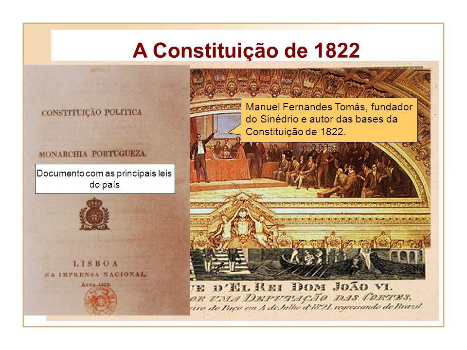 A preparação da Revolução - 1820 O Sinédrio Sociedade secreta, criada no Porto, em 1818 Formado por um conjunto de burgueses portuenses e alguns milit