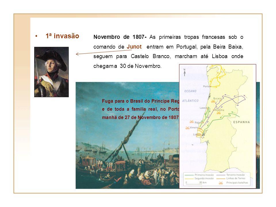 França invade Portugal