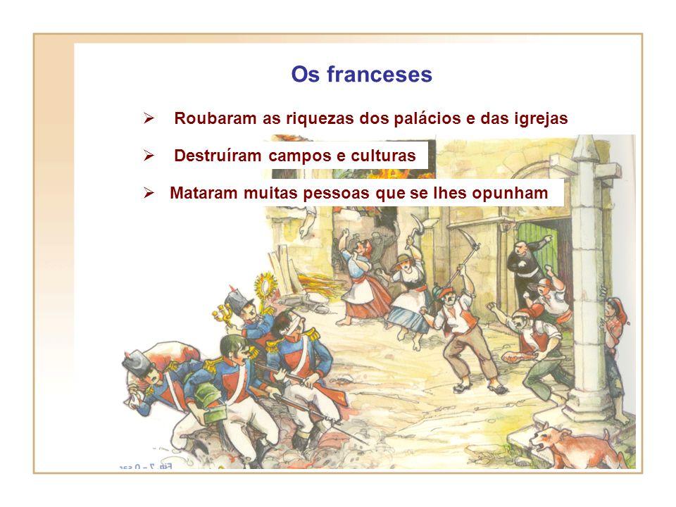 1ª invasão Novembro de 1807- As primeiras tropas francesas sob o comando de Junot entram em Portugal, pela Beira Baixa, seguem para Castelo Branco, ma