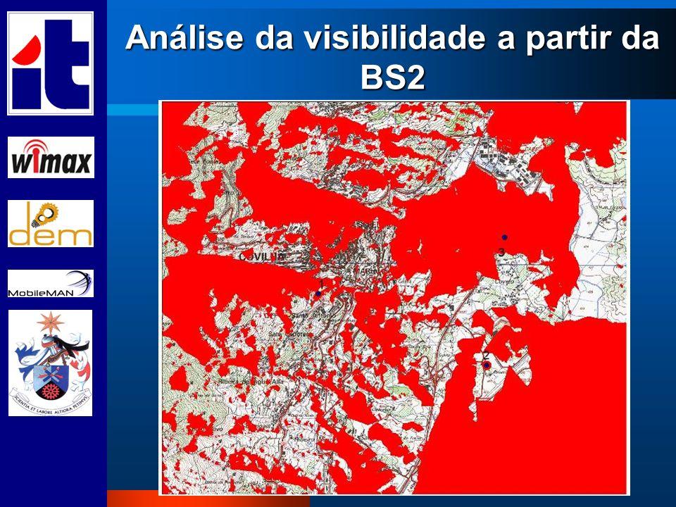 Análise da visibilidade a partir da BS2