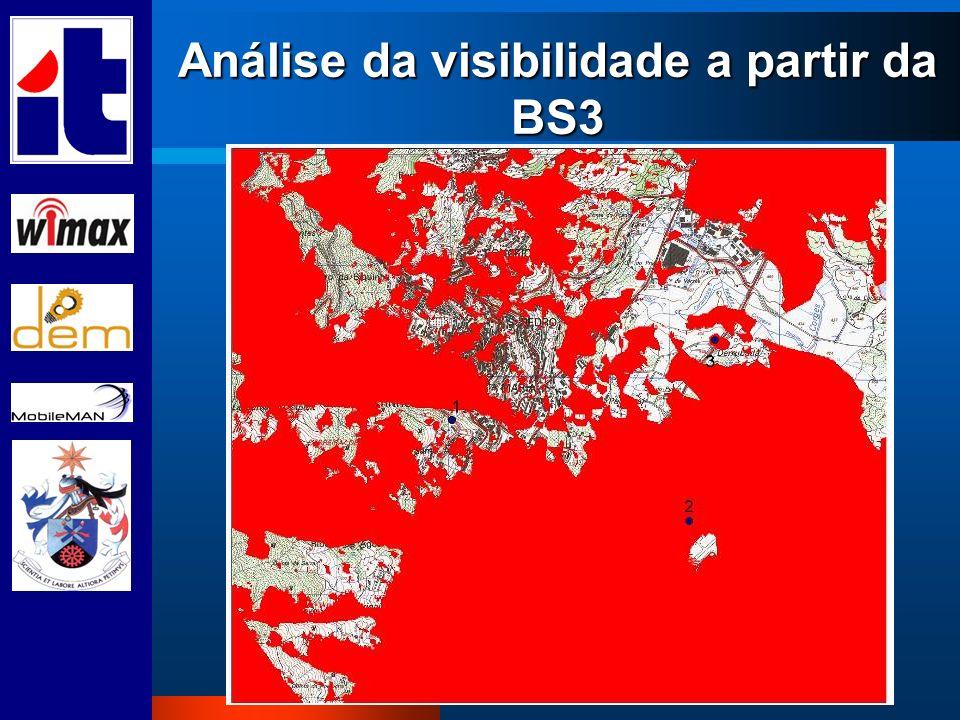 Análise da visibilidade a partir da BS3