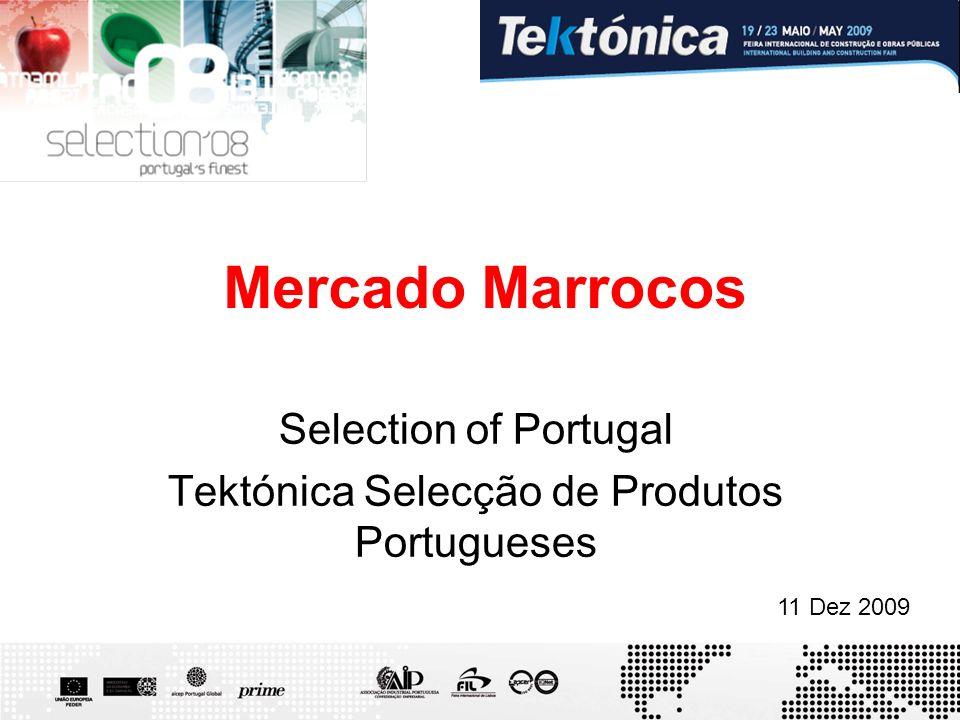 Mercado Marrocos Selection of Portugal Tektónica Selecção de Produtos Portugueses 11 Dez 2009